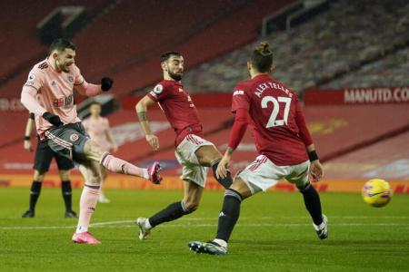Man United stunned at home by bottom side Sheffield United