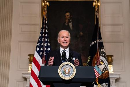 Biden sends clear warning to China over expansionism