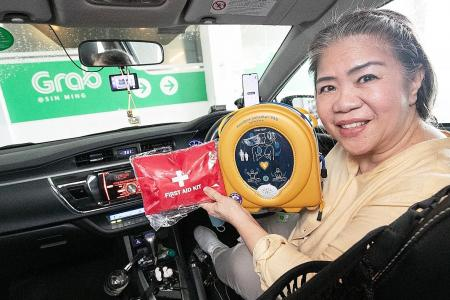 Trained by the SCDF, 64 Grab drivers are now ready to save lives
