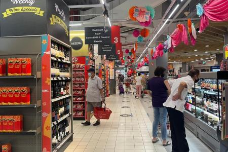 Get your CNY needs covered at FairPrice Xtra Hougang, Parkway Parade