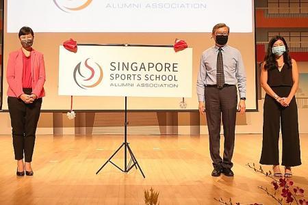 Singapore Sports School launches Alumni Association