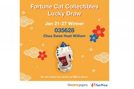 Redeem FairPrice CNY figurines and stand to win $1,088