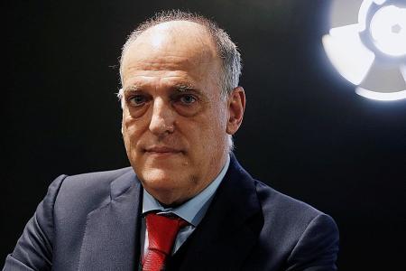La Liga chief Tebas points finger at Fifa president Infantino