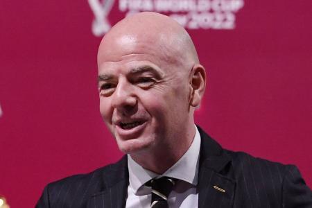 Fifa chief Gianni Infantino certain of full stadiums at Qatar 2022
