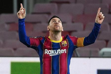 PSG could have a say in Barca superstar Lionel Messi's future