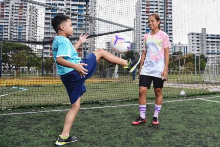 National footballer Ernie to start sports classes for autistic kids