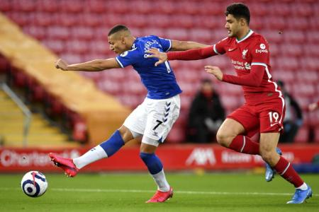 Liverpool's slump continues as Everton end 22-year jinx