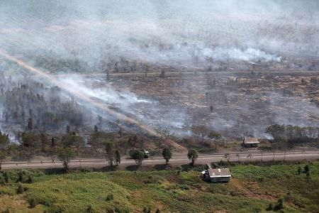 Indonesian President warns of potential fires as hot spots detected