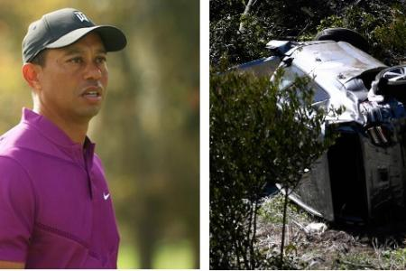Tiger Woods 'very fortunate' to survive car accident, says official