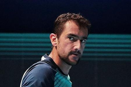 Marin Cilic snaps four-game losing streak with straight-set win