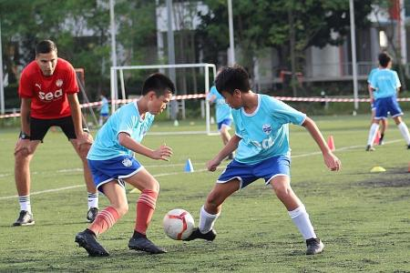 Youth development vital for Singapore football: Edwin Tong