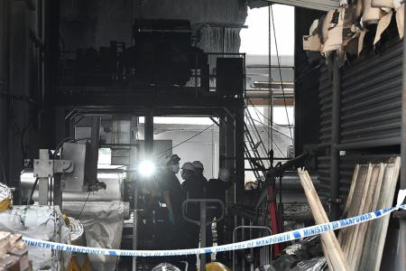 Three dead after Tuas explosion, five in critical condition