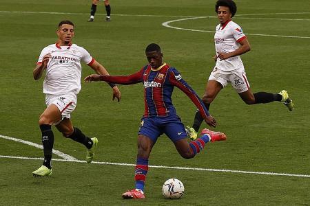 Barcelona defender Gerard Pique: La Liga title race is on