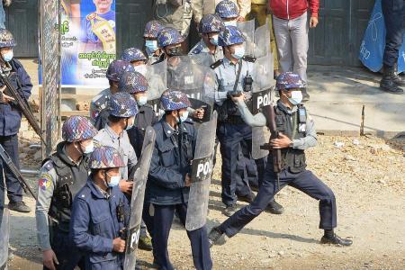 Myanmar coup an 'enormous, tragic step back': PM Lee
