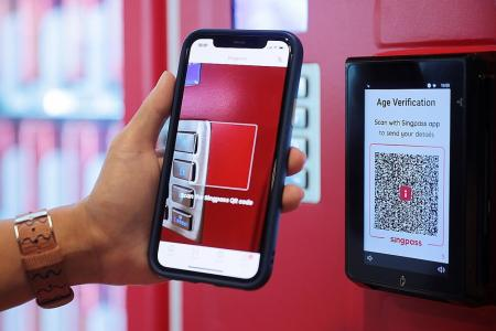 SingPass may soon be used to verify age to buy alcohol at machine