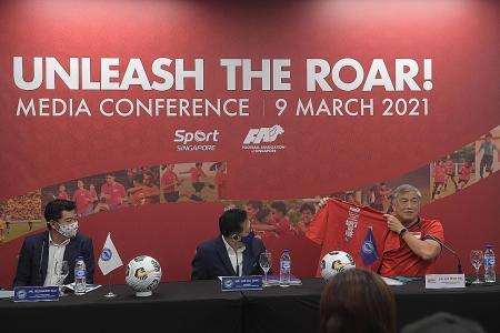 Unleash the Roar: Multi-prong plan to raise S'pore's football standard