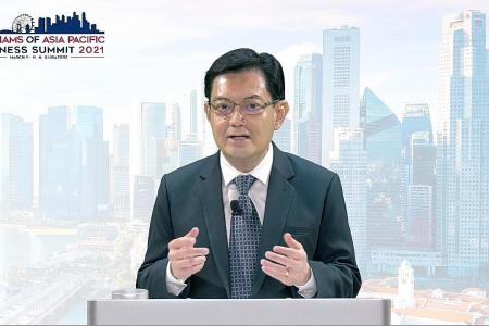 Businesses can champion cause of globalisation: DPM Heng