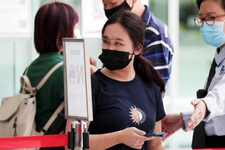 Student who returned from Britain on trial for breaching SHN