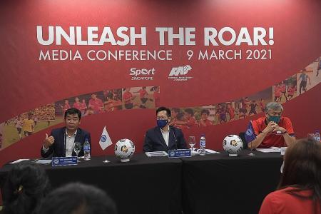 With Unleash the Roar, Singapore must hear football noise, again