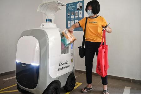 Robots to deliver parcels and groceries to Punggol residents