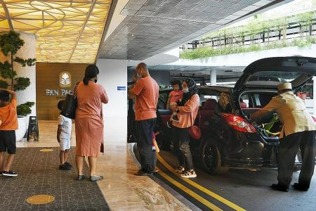 Families flock to hotels for March holiday staycations