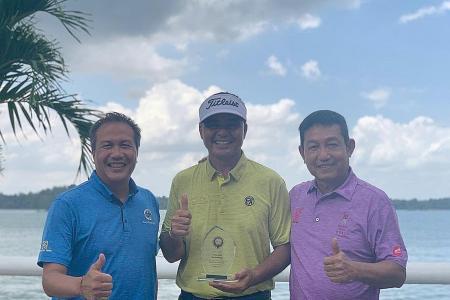 Veteran golfer Mardan Mamat still in the groove