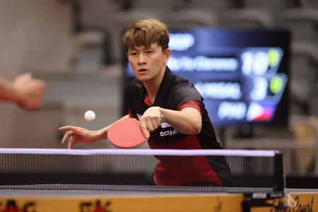Clarence Chew becomes first Singapore-born male paddler to reach Olympic men's singles event
