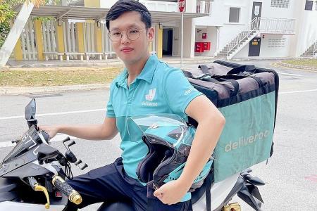 Prolific Singaporean Deliveroo rider in line for $18,500 bonus
