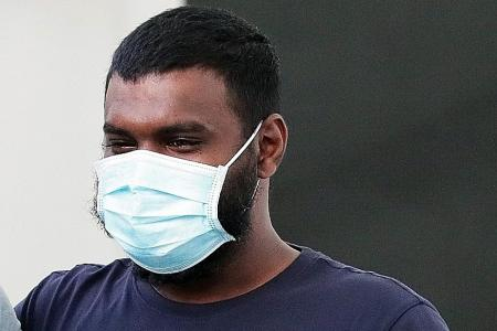 Man who purposely coughed at cop after removing mask jailed 14 weeks