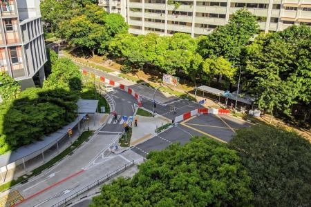 Pedestrianised Woodlands Ring Road trial gets mixed reactions