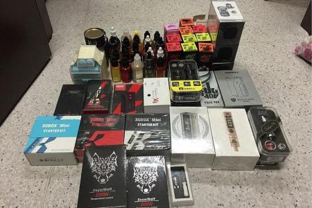 Eight convicted of selling e-vaporisers, fined $172,500 in total