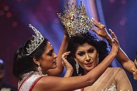 2019 Mrs Sri Lanka arrested after ugly fracas with her successor