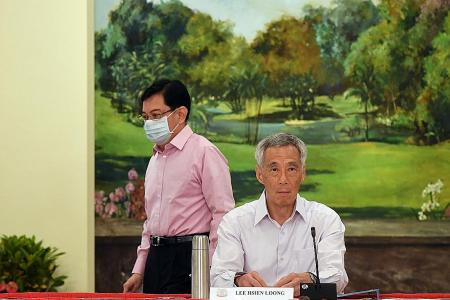 PM Lee will stay on until new 4G leader is chosen