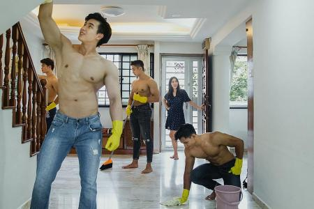 'Hunk for housekeeping' ad goes viral, but many are sceptical