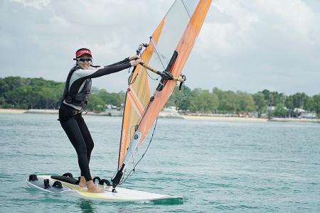 Windsurfer Amanda Ng overcomes bad fall to secure Olympic berth