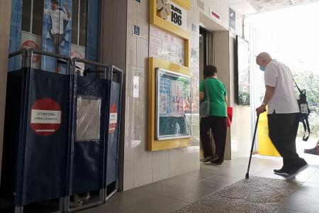 Elderly residents stranded as lifts stall at HDB block in Toa Payoh