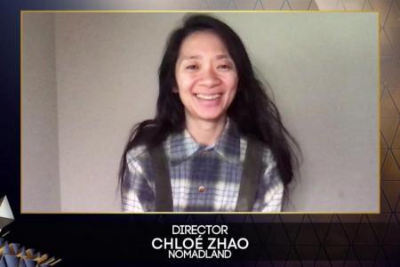 Nomadland wins best film Bafta, best director for Chloe Zhao