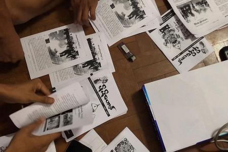 Myanmar's young fight Internet shutdown with underground newsletter