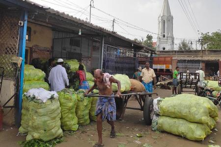 Amid the pandemic, vegetables from India cost three times more