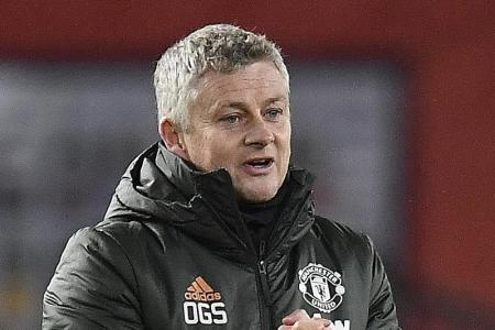Players see red, so Solskjaer colour coordinates