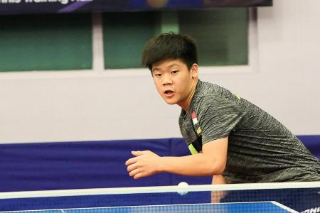 Izaac Quek is first S'pore paddler to become world No. 1 for U-15 boys