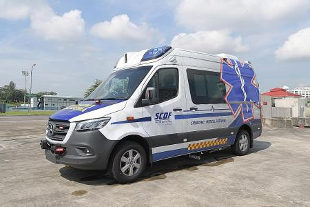 SCDF to start operating new ambulances, command vehicles from July