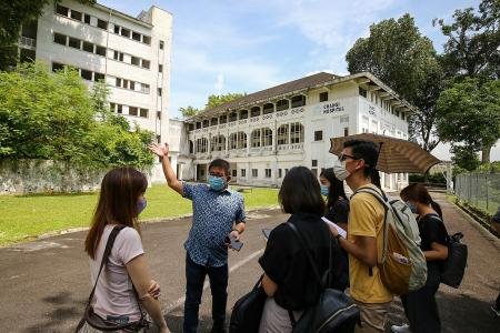 Giving Changi Point and Old Changi Hospital a new lease of life