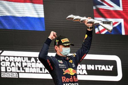 Max Verstappen surprised after beating Lewis Hamilton in rain-hit race