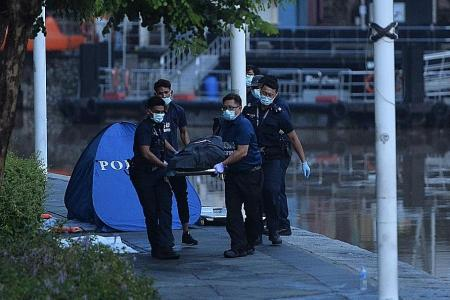 Two friends found dead in Singapore River rescue tragedy