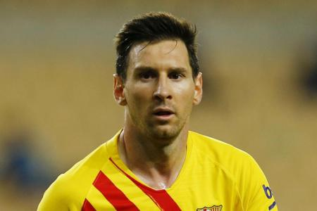 Barca president Laporta 'convinced' that Messi will stay