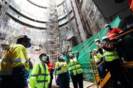 $10b underground sewage system can be financed through borrowing