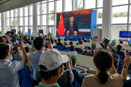 China's Xi calls for fairer world order as rivalry with US deepens