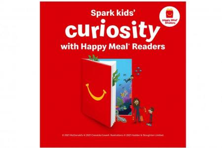 McDonald's launches new kids' book series, BTS meal
