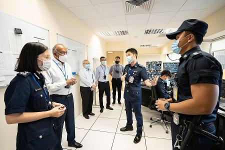 Selarang Park Complex taps tech to manage inmates